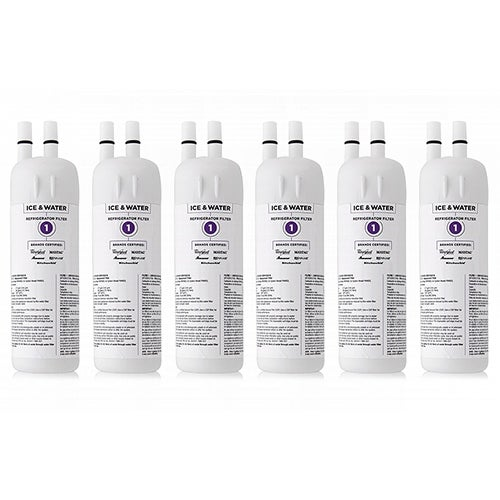 Original KitchenAid Water Filter EDR1RXD1 / Filter 1 / W10295370A (6-Pack)