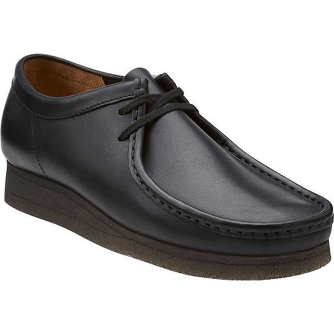 8a1a9bf320b Clarks Men's Wallabee Boot Black/Black Leather