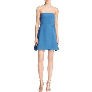 Keepsake Womens Mini Dress Strapless Surplice