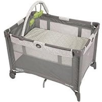 Pack N Play Playard Bassinet with Automatic Folding Feet,