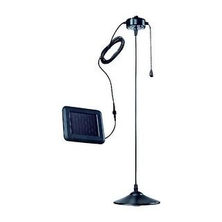 Kanstar Remote Control Medium Ceiling Lamp with Solar panel Garden Patio Light (Medium)