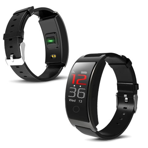 iOS & Android Compatible Bluetooth SmartWatch by Indigi® - R9 Fitness Tracker [BPM/BloodPressure + Pedometer]