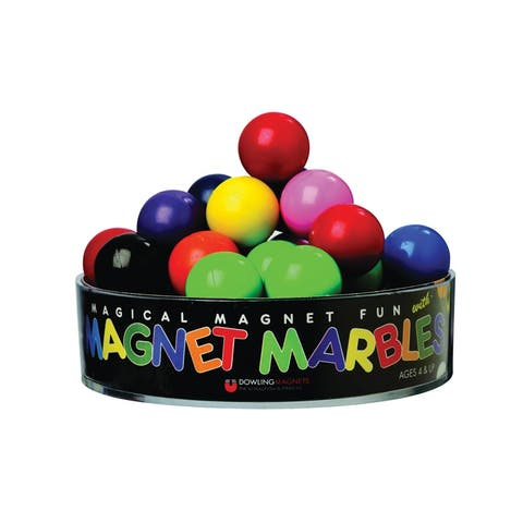 Magnet Marbles 20 Solid Colored