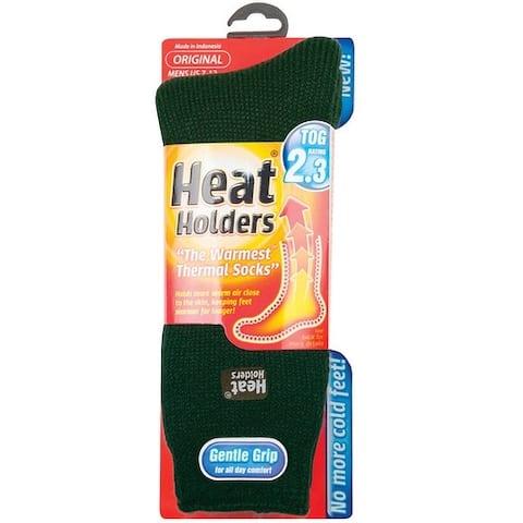 Heat Holders MHHORGFGR Mens Thermal Socks, Green
