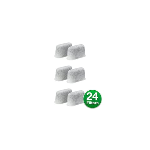 Replacement For Delonghi 7313285779 Activated Carbon Coffee Filter (6 Pack)