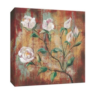"""PTM Images 9-153411  PTM Canvas Collection 12"""" x 12"""" - """"Flowers from the Garden IV"""" Giclee Flowers Art Print on Canvas"""