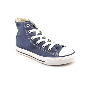 Converse Chuck Taylor All Star Hi Youth Round Toe Canvas Blue Sneakers