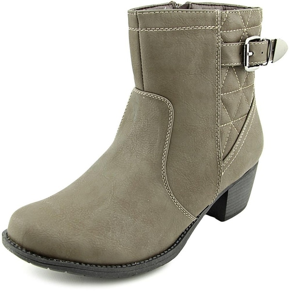 Easy Street Crosby   Round Toe Synthetic  Bootie