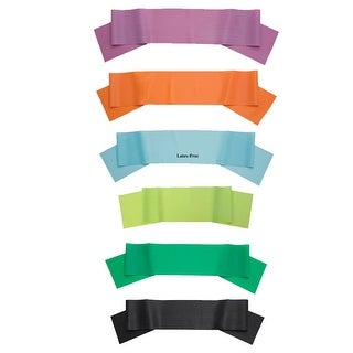 """Body Sport Exercise Resistance Bands - 5"""" Wide"""