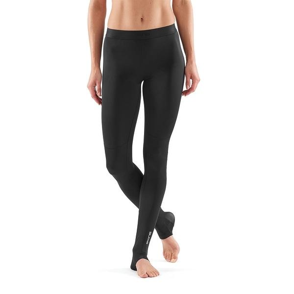Mens SKINS DNAmic Compression Long Tights Black Pants Activewear Training