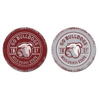 Mississippi State University Sandstone Car Coasters