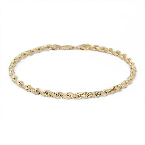 0831f6f27f0cb Buy Fine Gold Bracelets Online at Overstock | Our Best Bracelets Deals
