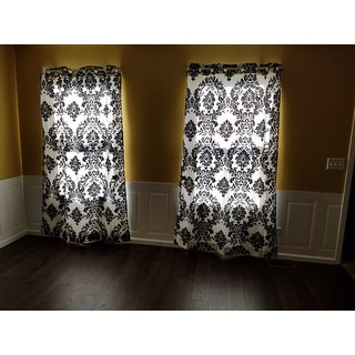 Lambrequin Venetian Grommet Top 84-inch Curtain Panel - 55 x 84