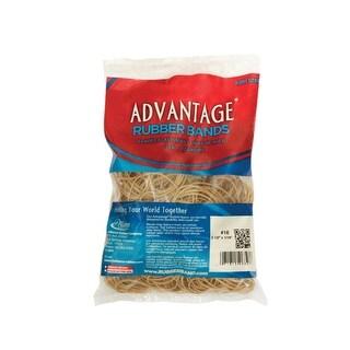 Alliance Advantage Latex Rubber Band, No 32, 3 L x 1/8 W in, 1/4 lb Box, Natural