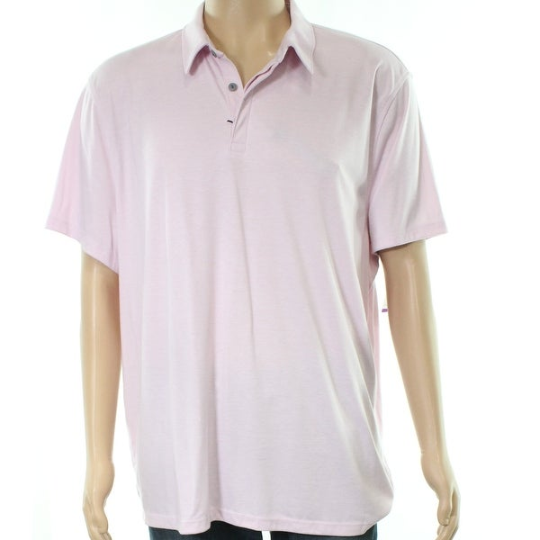 Shop Alfani Lilac Cream Mens Stretch Soft Polo Shirt - Free Shipping On  Orders Over  45 - Overstock.com - 27011348 77fd601b5
