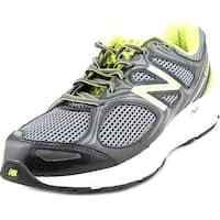 New Balance M840 Men  Round Toe Synthetic Black Walking Shoe
