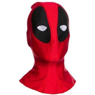 Marvel Deadpool Costume Fabric Overhead Mask Adult One Size