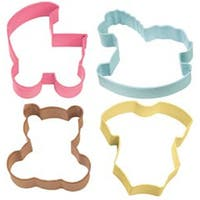 Baby Theme - Metal Cookie Cutter Set 4/Pkg