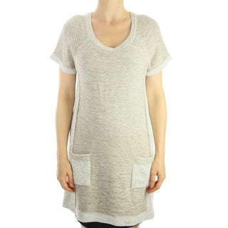 Style & Co. Rye Combo Plus Size Short-Sleeve Sweater X