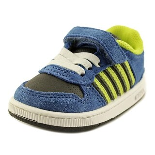 K-Swiss Jackson SDE VLC Toddler Round Toe Suede Blue Walking Shoe