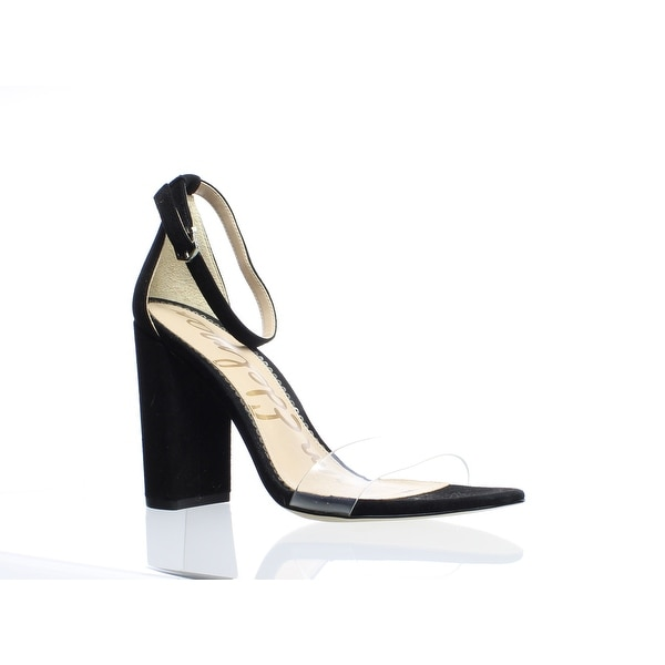 be0a24560142 Shop Sam Edelman Womens Yaro Black Ankle Strap Heels Size 9 (C