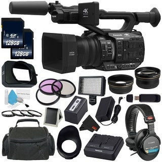 Panasonic AG-UX90 4K/HD Professional Camcorder All You Need Bundle