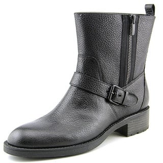 Nine West Hanzil Women Round Toe Leather Ankle Boot