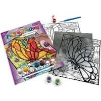 "Butterflies - Foil Paint By Number Kit 8""X10"""