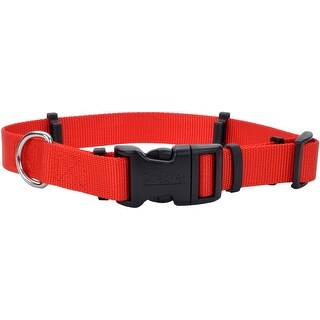 "Coastal Hideaway Flea Collar Protector 1""X20""-Red-Medium"
