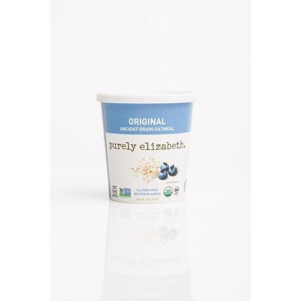 Purely Elizabeth Ancient Grain Oatmeal Cup - Original - Case of 12 - 2 oz.