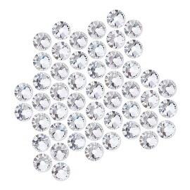 Swarovski Crystal, Round Flatback Rhinestone SS20 4.6mm, 50 Pieces, Crystal
