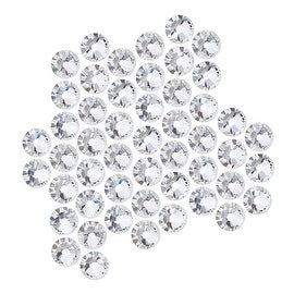 Swarovski Elements Crystal, Round Flatback Rhinestone SS20 4.6mm, 50 Pieces, Crystal