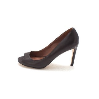 Cole Haan Womens Celestynasam Peep Toe Classic Pumps Black Size 6.0
