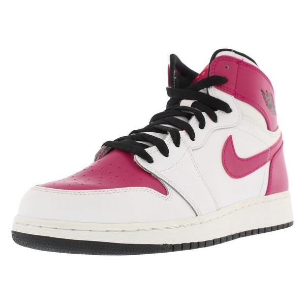 Shop Jordan Air Jordan 1 High Basketball Girls Gradeschool Shoes