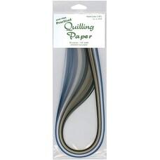 "Quilling Paper .125"" 80/Pkg-Pearlized (8 Colors)"