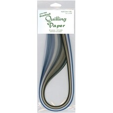 "Quilling Paper .125"" 80/Pkg-Pearlized (8 Colors)"