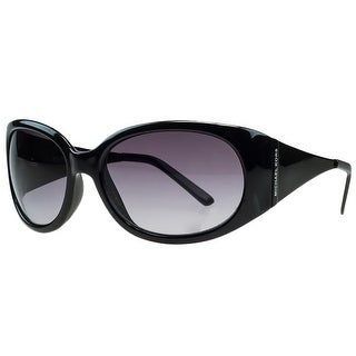 Michael Kors M3401/S 001 Black Rectangular Sunglasses - 58-18-130