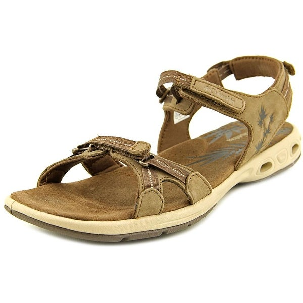 Columbia Kyra Vent II Women Open-Toe Synthetic Brown Sport Sandal