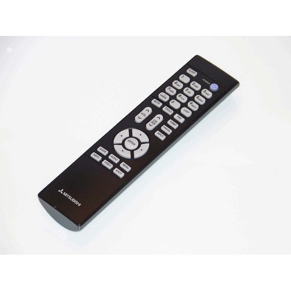 OEM Mitsubishi Remote Control Originally Shipped With: WD65638, WD-65638, WD65638CA, WD-65638CA, WD65C10, WD-65C10
