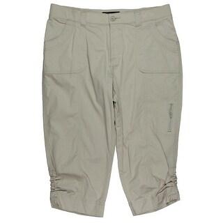 Lee Platinum Label Womens Capri Pants Relaxed Fit Adjustable