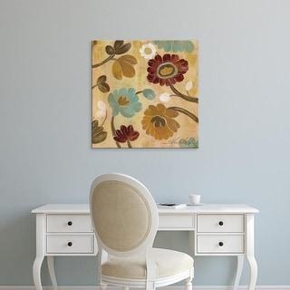 Easy Art Prints Silvia Vassileva's 'Arts and Crafts Garden III' Premium Canvas Art