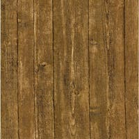Brewster 412-56910 Ardennes 56 Sq.Ft. Wood Imitating Wallpaper - One Roll - N/A