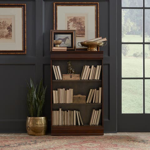Brayton Manor Cognac Jr Executive 48-inch Bookcase