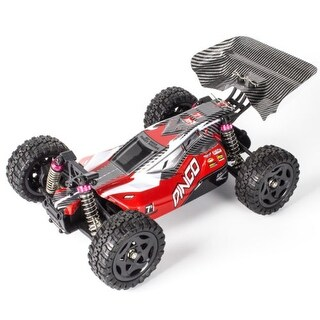 REMO 1651 4WD RC Car 1/16 Scale Model 50km/h Brush Short-range Truck Buggy Red