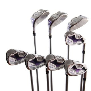 New Cobra Baffler XL Ladies Irons 4H-6H,7i-PW,SW Aldila 60 Graphite RH w/ HCs