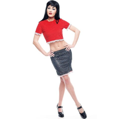 Archie Veronica Adult Costume - Red