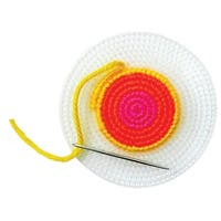 Plastic Canvas Circle, 4-1/4 Inches, Pack of 8