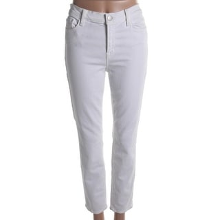 J Brand Womens Cropped Jeans Mid-Rise Skinny