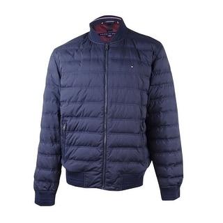 Tommy Hilfiger Men's Clyden Puffer Jacket (XL, Navy) - Navy