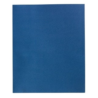 School Smart 2-Pocket Folders, Dark Blue, Pack of 25